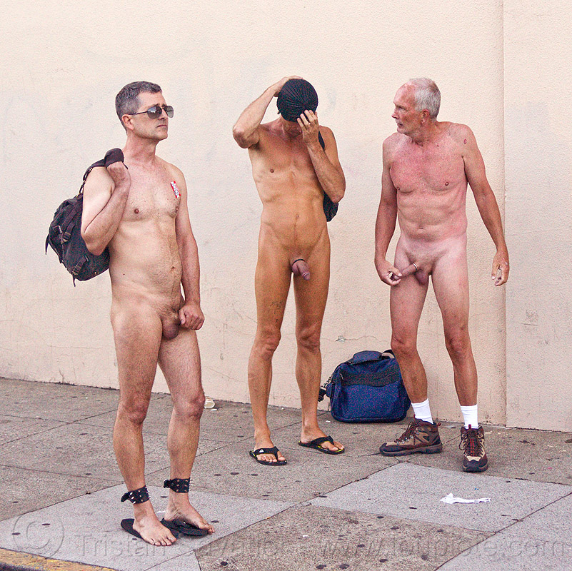 naked men - folsom street fair (san francisco), men, nude