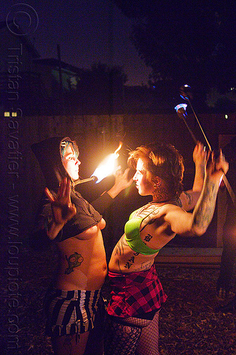fire performers, fire dancer, fire dancing, fire performer, fire spinning, haley, leah, night, woman