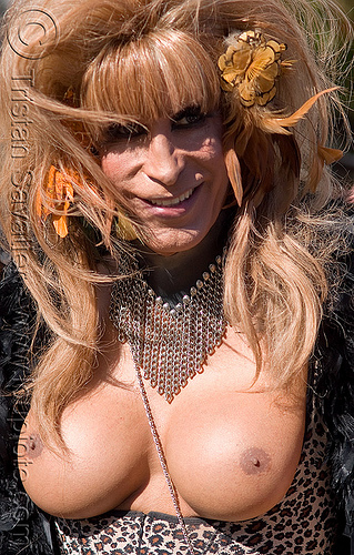 transsexual - transgender, breasts, crossdressing, drag queen, festival, love fest, lovevolution, m2f, man, sex reassignment, shemale, topless, tranny, trans, transgender, transsexual, transvestite, transwoman