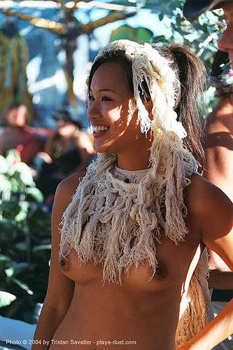 cd3-014_12-burning-man-2003 - woman at center camp, art, asian girl, breasts, burning man, center camp, topless woman