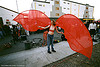 red-wings, costume, red wings, woman