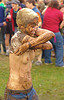 mud fight - girl - kelly, breasts, kelly, mud fight, muddy, topless woman