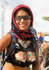 critical tits - burning man 2008, burning man, painted breasts, sunglasses, topless woman