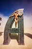 @EARTH #HOME - burning man 2016, @earth #home, art installation, burning man, metal sculpture, steel, woman