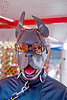 leather dog mask - dore alley fair (san francisco), bondage masks, costumes, dog masks, dore alley fair, fetish mask, human animal roleplay, leather masks, man, petplay, ponyplay, pup-play, snouts