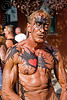 man with body painting - folsom street fair 2009 (san francisco), folsom street fair, man