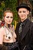 calamity lulu and neil girling (aka mr nightshade) - burning man decompression 2009 (san francisco), burning man decompression, couple, necklace, neil girling, woman