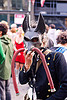 how weird 2012, dog mask, hoses, how weird festival, latex mask, man, selfportrait